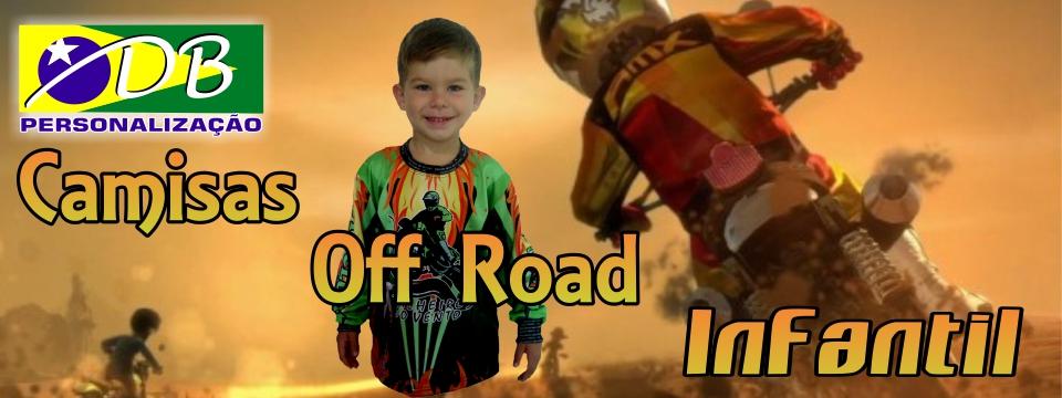 Camisa Off Road Infantil